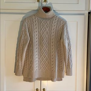 Tuckernuck Fitzgerald Cable Knit Sweater, Sz S